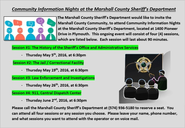 Community Information Nights