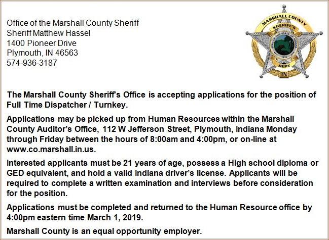 Job Post 2-18-19